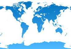 Weltabbildung Stockbilder