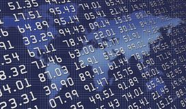 Weltabbildungen Lizenzfreies Stockfoto