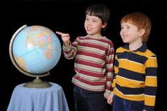 Weltausbildung Stockfoto