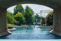 Weltausstellungs-Park in Knoxville lizenzfreie stockbilder