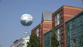 Weltballon Берлин сток-видео