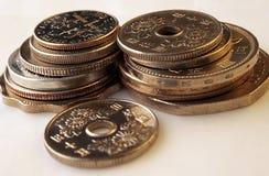 Weltbargeld! Stockfotografie