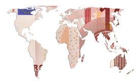 Weltbargeld Lizenzfreie Stockbilder