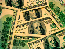 Weltbargeld: US-Dollar Stockfotografie