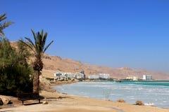 Weltberühmter Kurortkomplex auf dem Toten Meer Stockfotografie
