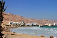 Weltberühmter Kurortkomplex auf dem Toten Meer Stockfotos