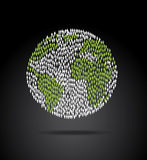 Weltbevölkerung Stockfoto