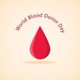 Weltblutspend-Tag Lizenzfreie Stockbilder