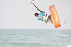 Weltcup 2011 Hua-Hin Kiteboard lizenzfreie stockbilder