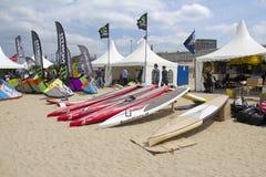 Weltcup-Drachen-Surfen Lizenzfreies Stockbild