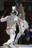 Weltcup-Folien-Männer 2009 - Kruse (GBR) Stockfoto