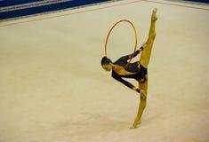 Weltcup rhythmische Gymnastik 2012 Stockbild