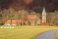Weltenburg abbey Stock Image
