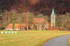 Weltenburg-Abtei Stockbild