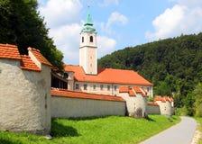 Weltenburg Abtei (Kloster Weltenburg) Lizenzfreie Stockfotografie