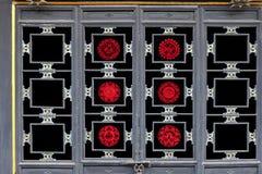 Welterbe: die alte Stadt von Papier-geschnittenen Fenstergrills Pingyao Stockfotos