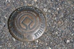Welterbestätten der Wege von Santiago de Compostela in Frankreich lizenzfreies stockbild