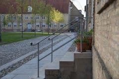Welterbstadt Christiansfeld stockbild