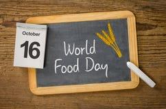 Welternährungstag Stockbild