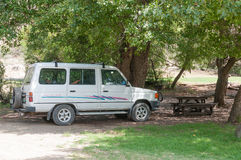 Weltevrede picnic area in the Mountain Zebra National Park Stock Photo