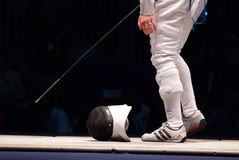 Weltfechtenmeisterschaft 2006 - Vezzali Stockbilder