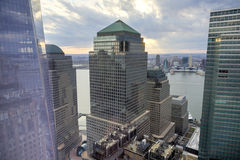 Weltfinanzzentrum - New York Stockbild