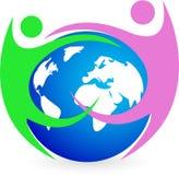 Weltfreundschaft lizenzfreie abbildung