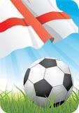 Weltfußballmeisterschaft 2010 - England Stockfotos