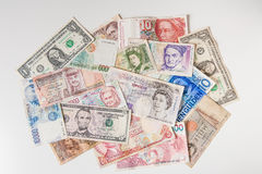 Weltgeldteppich Lizenzfreie Stockfotografie