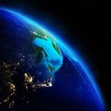 Weltgeographie lizenzfreie stockfotografie