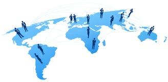 Weltgeschäftskommunikationen Lizenzfreie Stockfotografie