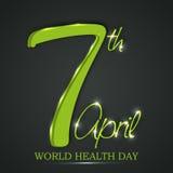 Weltgesundheits-Tag Stockbilder