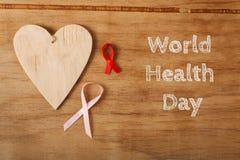 Weltgesundheits-Tag stockfoto
