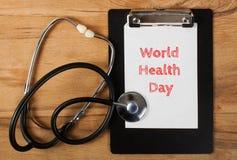 Weltgesundheits-Tag lizenzfreies stockbild