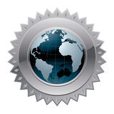 Weltglobale Sicherheit vektor abbildung