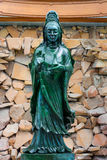 Weltgrößte Jade Buddha im wat Dhammamongkol, Thailand Stockfoto