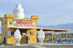 Welthöchster Eisstand in Pahump, Nevada, USA Stockbild