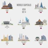 Welthauptstädte Stockfotos