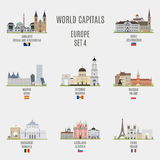 Welthauptstädte Stockbilder