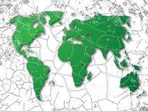 Welthintergrund Stockbilder