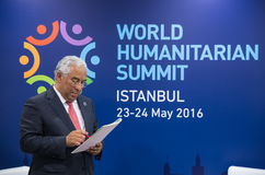 Welthumanitärer Gipfel, Istanbul, die Türkei, 2016 Lizenzfreies Stockbild