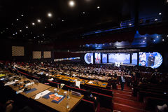 Welthumanitärer Gipfel, Istanbul, die Türkei, 2016 Lizenzfreie Stockbilder
