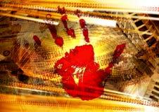 Weltinformations-Begriffshintergrund Lizenzfreies Stockbild