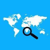 Weltkarte Stockfotos