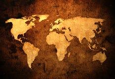 Weltkarte stockfotografie