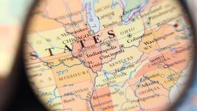 Weltkarte stock video footage
