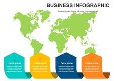 Weltkarte der Vektorzusammenfassung 3d, Stifte Australien, Asien Afrika USA Kugelweltkartevektor-Konzeptikone lizenzfreie abbildung