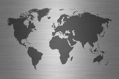 Weltkarte - Karte der Welt Lizenzfreies Stockbild