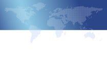 Weltkarte (kleine Punkte) Stockfoto