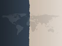 Weltkarten-Hintergrund Lizenzfreies Stockbild
